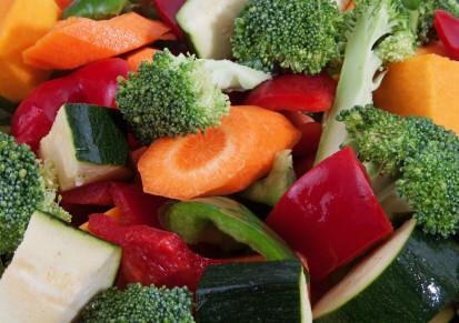 raw vegetables, blood pressure diet