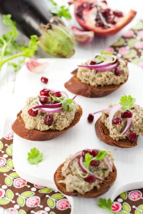 Eggplant dip, https://www.info-on-high-blood-pressure.com/Natural-Remedies-For-High-Cholesterol.html