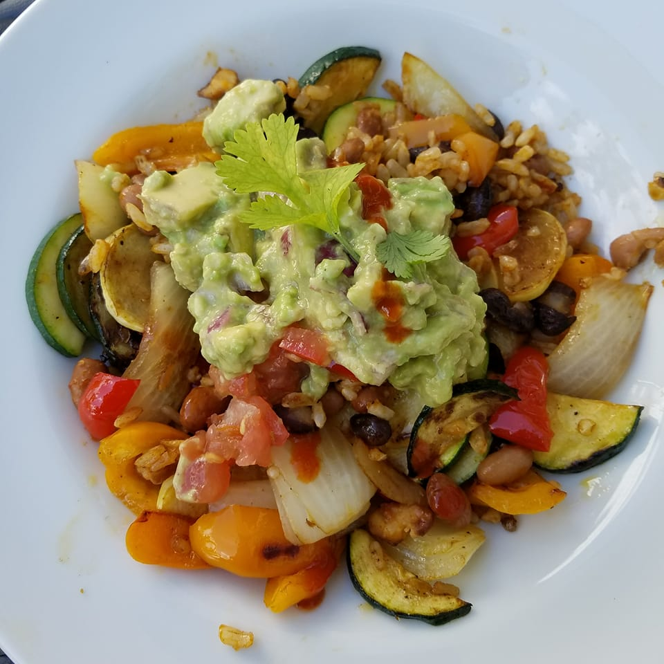 Southwestern Beans And Rice Bowl. https://www.info-on-high-blood-pressure.com/eating-healthy.html