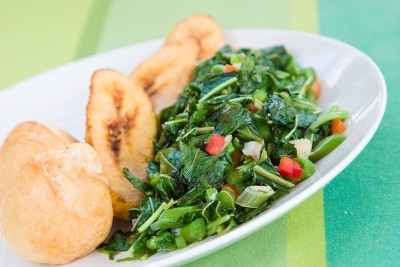 Greens and fry dumplings.  https://www.info-on-high-blood-pressure.com/eating-healthy.html