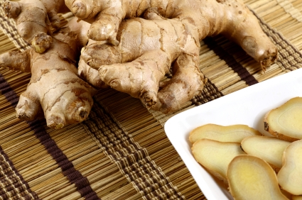 http://www.info-on-high-blood-pressure.com/Herbs-To-Lower-Cholesterol.html, Ginger Root