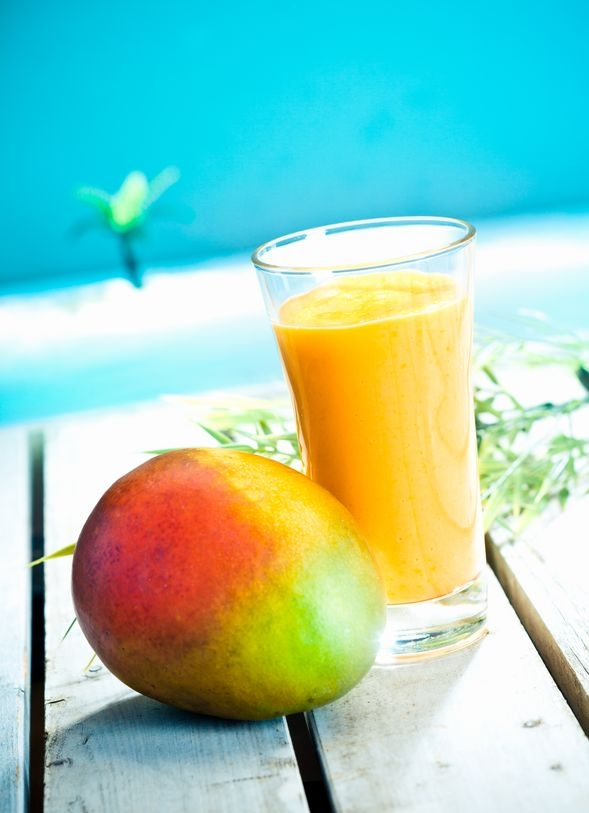 Mango smoothie. https://www.info-on-high-blood-pressure.com/Blood-Pressure-Supplements.html