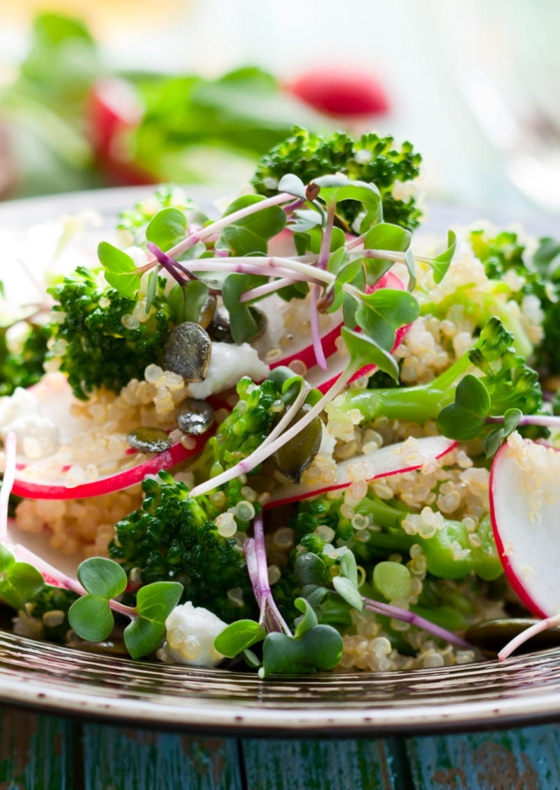 Quinoa veggie meal to lower your blood pressure and blood sugar. https://www.info-on-high-blood-pressure.com/blood-pressure.html