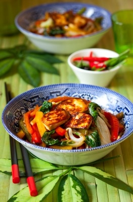 http://www.info-on-high-blood-pressure.com/HeartHealthyLow-SaltRecipes.html, Scrambled Tofu