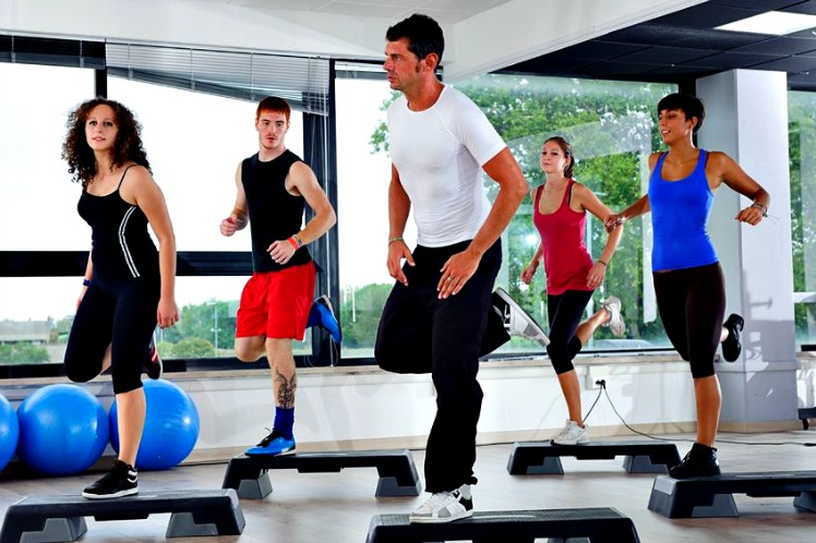 http://www.info-on-high-blood-pressure.com/Raising-Good-Cholesterol.html, Stepping an Aerobic Exercise