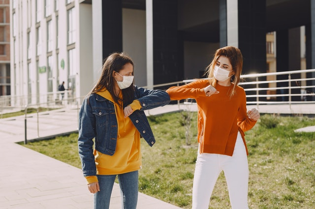 Wearing a mask. https://www.info-on-high-blood-pressure.com/coronavirus.html