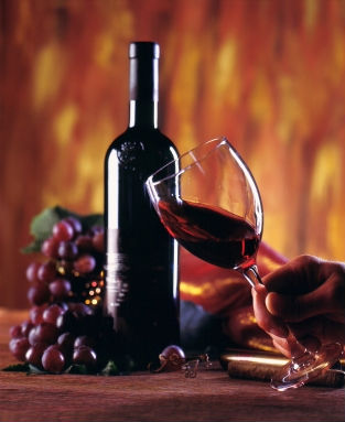 Bottle of red wine, https://www.info-on-high-blood-pressure.com/alcoholandhighbloodpressure.html