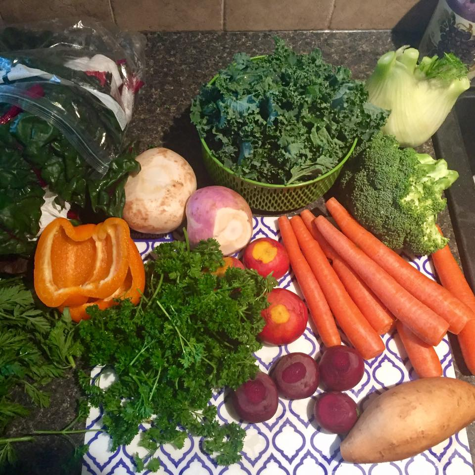 Raw Organic vegetables in preparation. https://www.info-on-high-blood-pressure.com/chronic-inflammation.html
