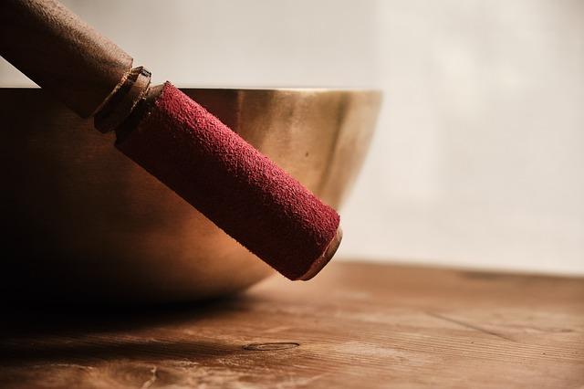 Singing meditation bowl. https://www.info-on-high-blood-pressure.com/meditation.html
